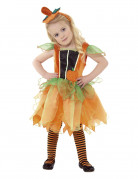 Kürbis-Fee-Kostüm für Kinder Halloween-Kostüm orange
