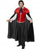 Gothic Manor Schlossherr Vampir Kostüm schwarz-rot-weiss