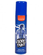 Farbiges Körper- und Haarspray blau 75ml