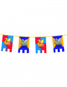 Mittelalter-Girlande Party-Deko bunt 6m
