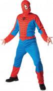 Spiderman Lizenz-Kostüm Superheld rot-blau