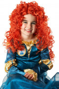 Merida Disney Kinder-Perücke Lizenzware rot