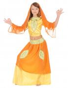Bollywood Prinzessin Kinderkostüm gelb-orange