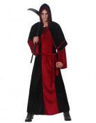 Herr des Todes Herrenkostüm Halloween rot-schwarz