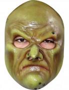 Hexenmaske Halloween grün