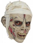 Schaurige Mumienmaske für Erwachsene Halloween