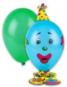 Lustiges Männchen Party Luftballon Set bunt