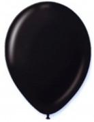 Luftballons Party-Deko Set 12 Stück schwarz