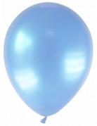 Party Zubehör Deko Luftballons 12 Stück hellblau 28 cm