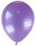 Party Zubehör Deko Luftballons 12 Stück violett 28 cm