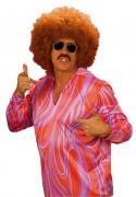 Disco Shirt Karneval pink-orange