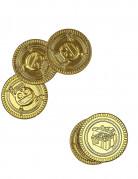 30 Totenkopf-Goldstücke gold