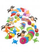 Spielzeug Set Piñatafüllung 64-teilig bunt
