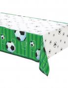 Fussball-Tischdecke grün-weiss-schwarz 137,16x274,32cm