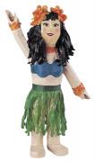 Hawaiianische Tänzerin Piñata Partydeko bunt