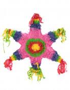 Mexikanische Stern-Piñata bunt