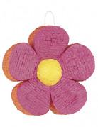 Blumen-Piñata Partydeko rosa-orange
