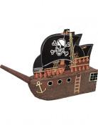 Piratenschiff Piñata Partydeko bunt 45x48cm