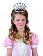 Prinzessinnen-Krone für Kinder silber