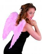 Engelsflügel Kostümaccessoire Federflügel rosa