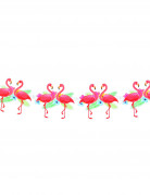 Flamingo-Girlande Karton