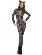 Leoparden-Ganzkörper-Damenanzug hauteng