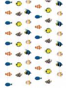 Unterwasser Welt Tropenfisch Girlande bunt