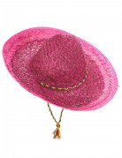 Mexikaner Sombrero Kostüm-Accessoire pink