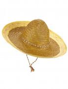 Sombrero Mexiko-Strohhut gelb-braun