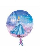 XL Aluminium Ballon Lizenzartikel Cinderella bunt 45cm