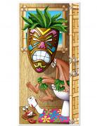 Türdeko Hawaii Toilette bunt 76x150cm