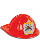 Fire Chief Feuerwehrhelm rot-grau-gelb