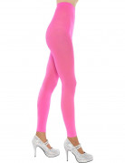 Damenhose-Leggings neonrosa