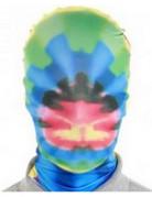 Morph Maske Batik-Muster bunt