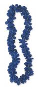 Hawaii-Blumenkette Blütenkette blau 101cm