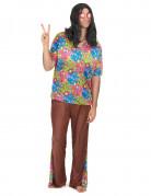 Hippie Herren-Kostüm bunt