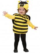 Bienchen-Kinderkostüm Tieranzug schwarz-gelb