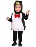 Süsser Pinguin Kinderkostüm schwarz-weiss