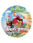 Angry-Birds-Luftballon Lizenzartikel für Fans Verschiedene Vögel bunt 45cm