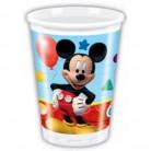 Micky Maus Partybecher Disney-Lizenzartikel 8 Stück bunt