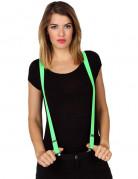 Neon Hosenträger neongrün