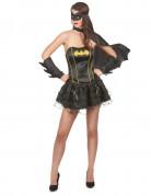 Justice League Batgirl Superheldin Damenkostüm Lizenzware schwarz-gelb