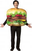 Lustiges Hamburger Herren-Kostüm bunt