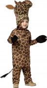 Süsses Giraffen Kinderkostüm braun-schwarz