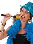 Mikrofon-Attrappe Kostüm-Accessoire schwarz-gold