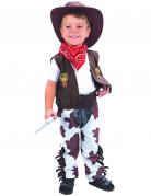 Mutiger Cowboy-Kinderkostüm Wilder Westen bunt