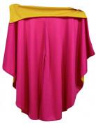 Umhang für Toreros rosa-gelb