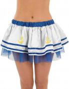 Matrosen-Tütü Kostüm-Accessoire blau-weiss