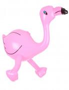 Aufblasbarer Flamingo Partydeko rosa