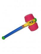 Kunststoff-Hammer Clownshammer bunt 75cm
